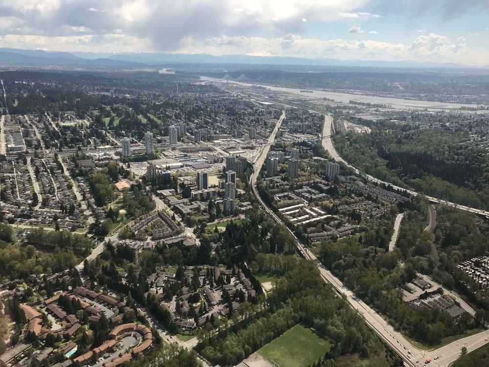 Shots from CTV News Vancouver's Chopper 9 | CTV News