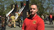 Firefighter training Saanich