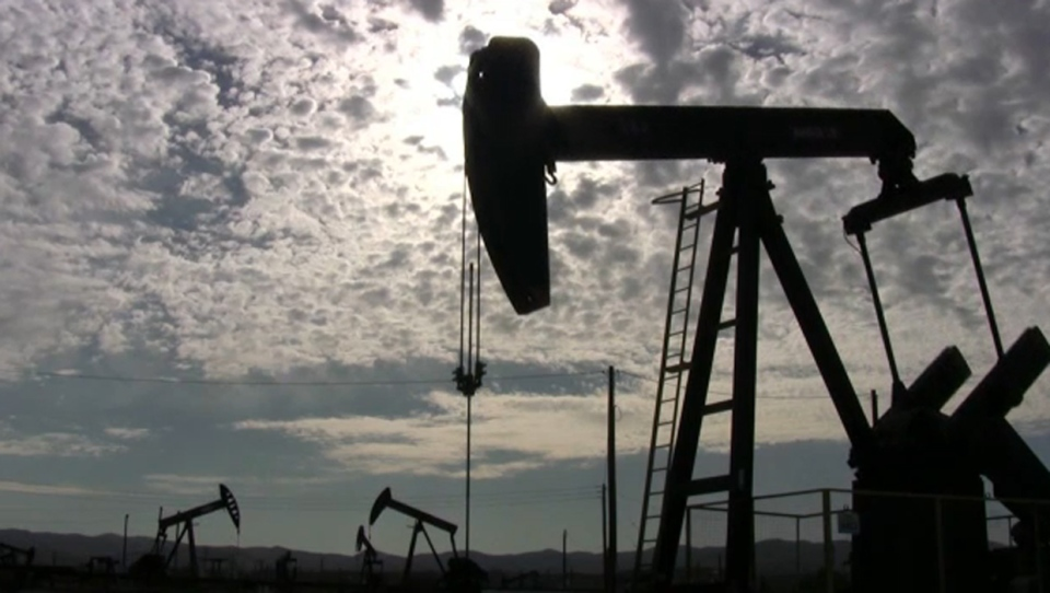 ATB has pointed to low oil prices and softer global demand for oil as having a negative impact on Alberta's economy, with the price of a barrel of West Texas Intermediate potentially staying below $50 US for the next two years (file)