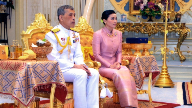 Thai king marries long-term consort just days before his coronation