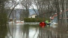 Flooding closes main road in Constance Bay