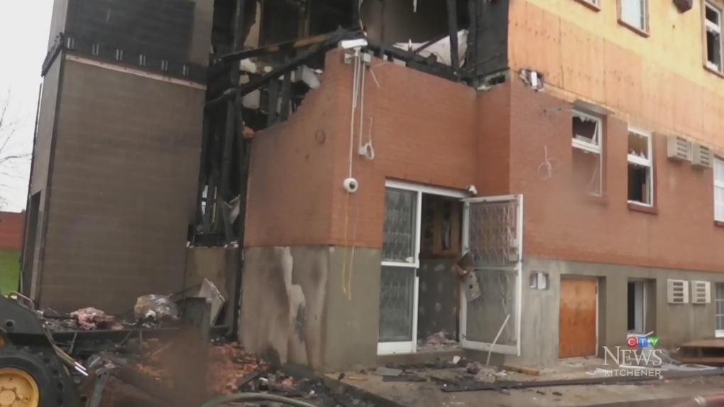 Reconstruction begins months after suspicious fire at addiction treatment centre