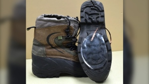 tech on hiking boots