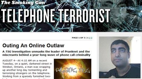 Ont  man accused of string of online pranks | CTV News