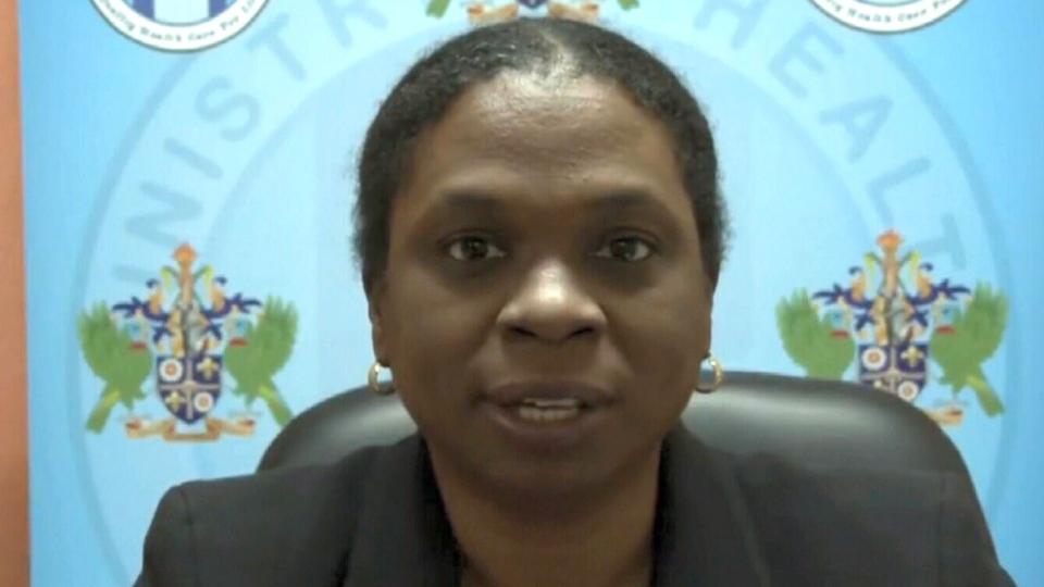 Dr. Merlene Fredricks-James, St. Lucia's chief medical health officer.