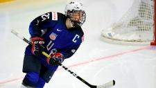 Kendall Coyne Schofield of Team USA Hockey