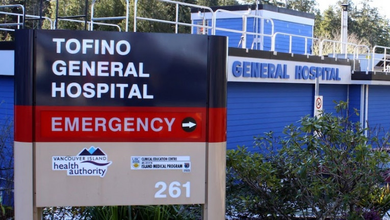 The Tofino General Hospital is shown: (Tofino General Hospital)