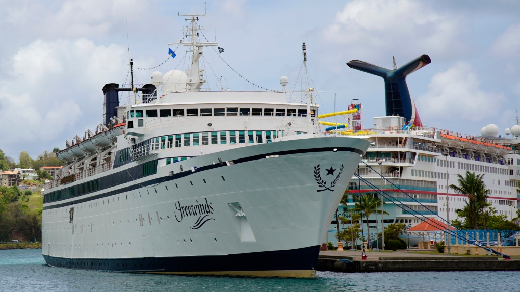Scientology ship to remain under quarantine for potential measles outbreak