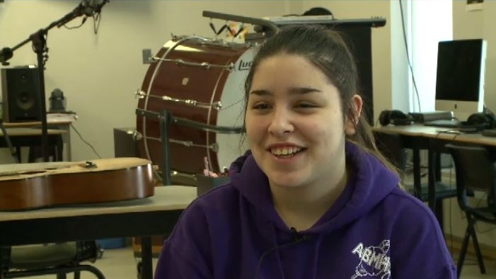 """It's a very, very powerful song and doing it in Mi'kmaw just makes it more powerful, said Stevens. ""It's a different language and a very beautiful language."""
