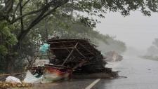 In Puri ahead of the landfall of Cyclone Fani