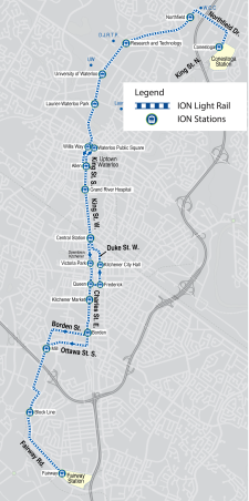 The Ion LRT map