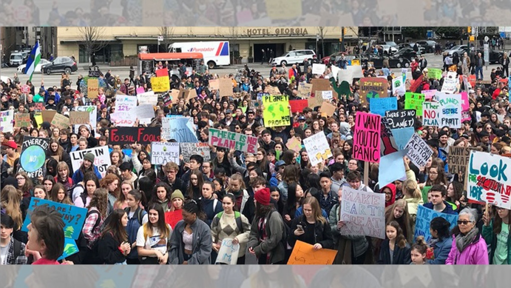 B.C. students urged to cut class for climate change rally