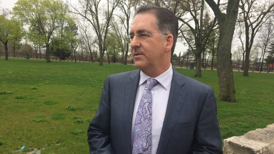 NDP MP Brian Masse wants to run in the next federal election again in Windsor, Ont., on Friday, May 3, 2019. (Stefanie Masotti / CTV Windsor)