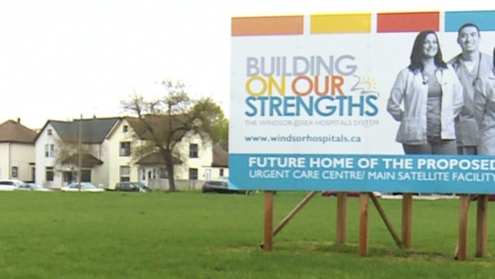 CTV Windsor: Former Grace Hospital site sale