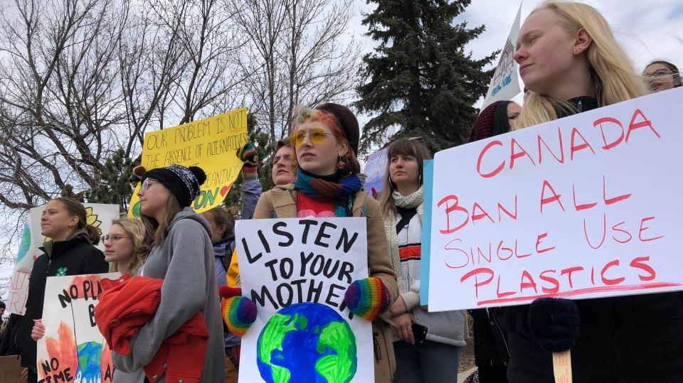 Saskatoon climate rally