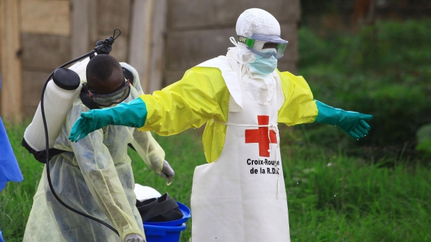 City in Congo's Ebola outbreak attacked by militia; 8 dead