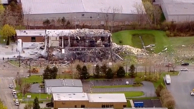 1 body found, 2 more believed dead in Illinois silicone plant explosion