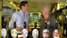 Pub celebrates royal baby custom craft beer