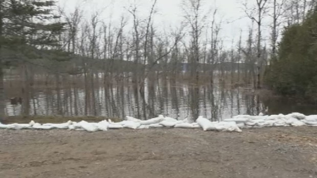 After weeks of flooding, some New Brunswickers returned to their homes over the weekend as flood waters continued to recede.