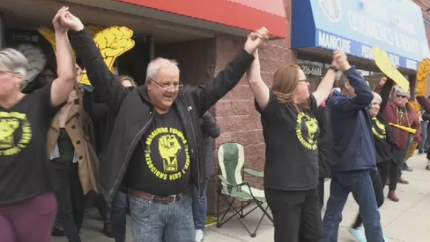 Workers at the province's 46 nursing homes, who are represented by CUPE, have been without a contract for over two years.