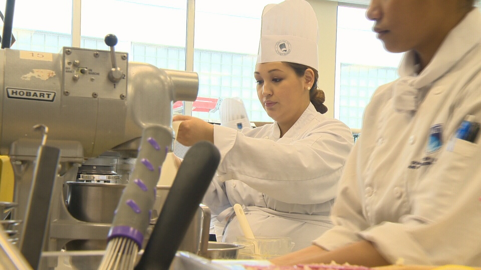 Tasha Tologanak says she plans to take what she learned as a culinary student at NAIT in Edmonton back to her hometown of Cambridge Bay, Nunavut.