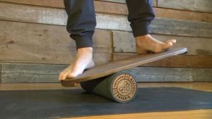 Local artist tackles DIY 'Balance boards'