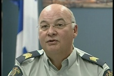 RCMP Staff-Sgt. Noel St-Hilaire says that counterfeit medication is a growing problem in Canada (August 7, 2009)