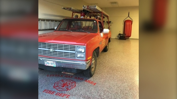 A Newfoundland volunteer fire department is asking for provincial funds to replace the rusted, ramshackle pickup truck it's used as a fire truck for decades.