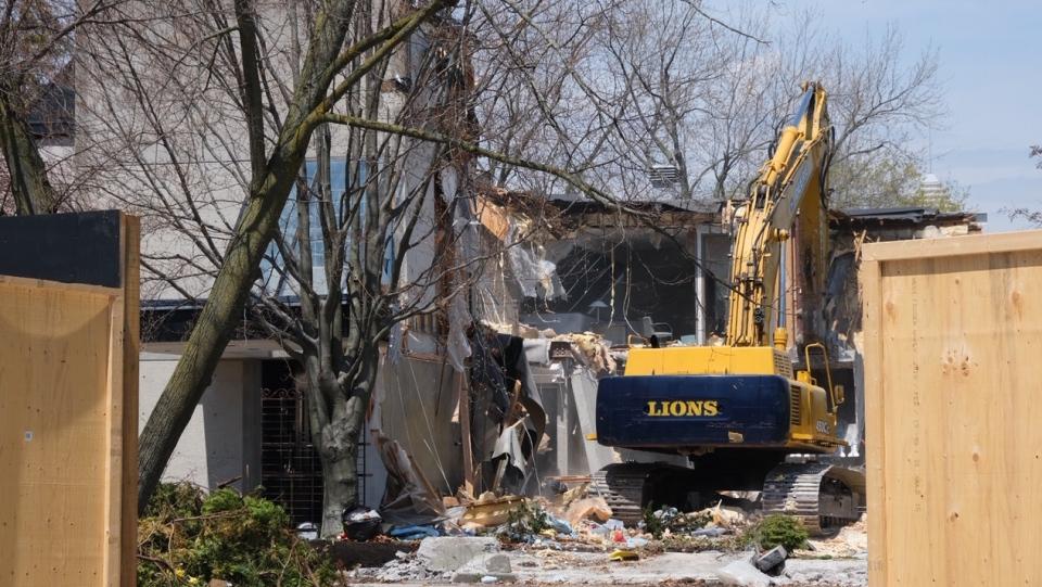 Sherman demolition