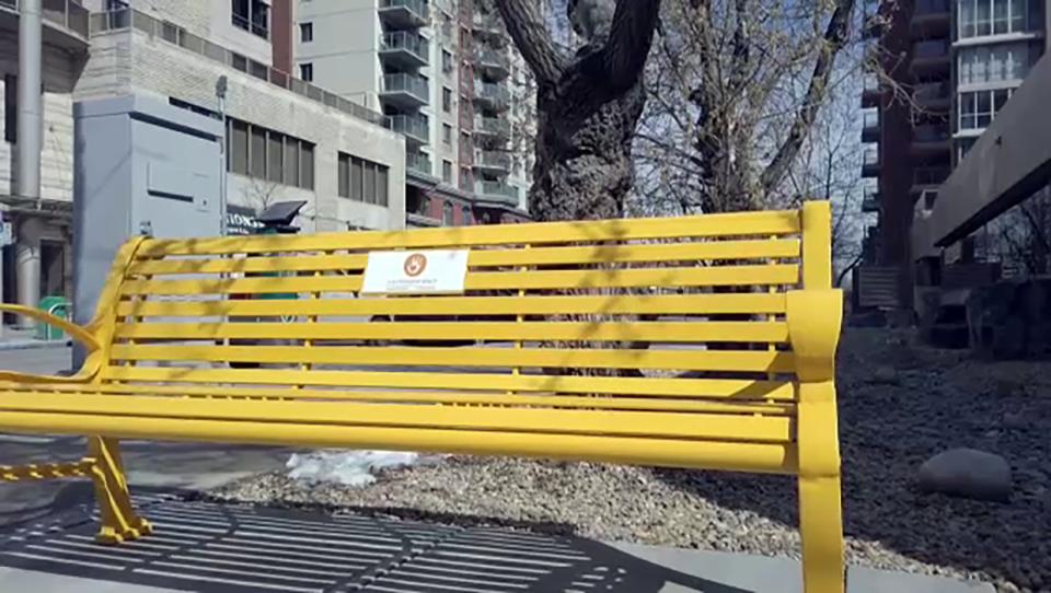 Friendship Bench, Calgary Mental Health Associatio