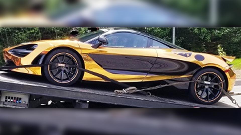 Impounded McLaren