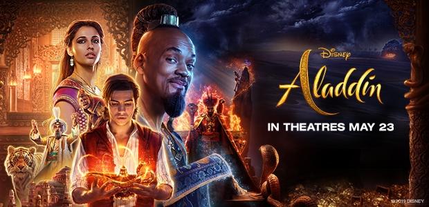Aladdin Movie Passes Banner