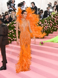 Kendall Jenner attends The Metropolitan Museum of