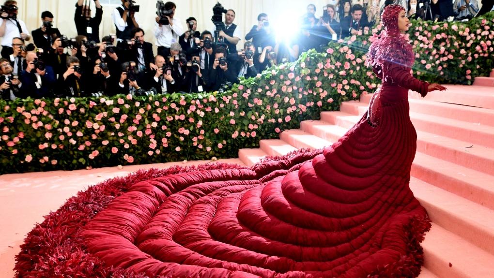 Cardi B attends The Met Gala