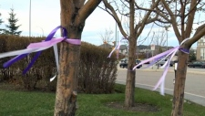 Ribbons in remembrance