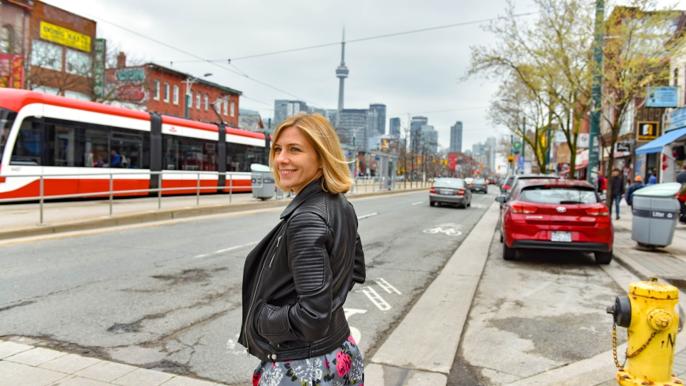 Helena Werren, 45, will escape the hustle and bustle of Toronto next month and travel to the breathtaking village of Grottole, where she will live for three months after being selected by Airbnb from more than 250,000 applicants. (Airbnb)