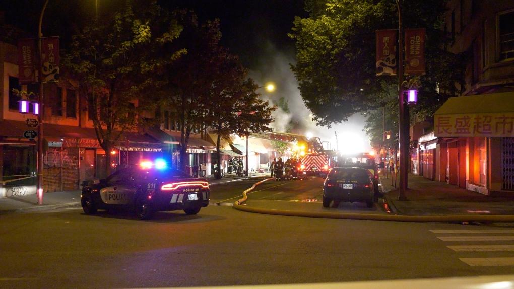 Chinatown fire
