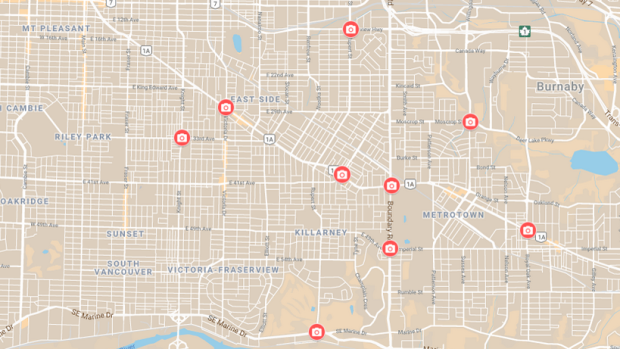 Interactive map: Which intersections are getting automated ... on