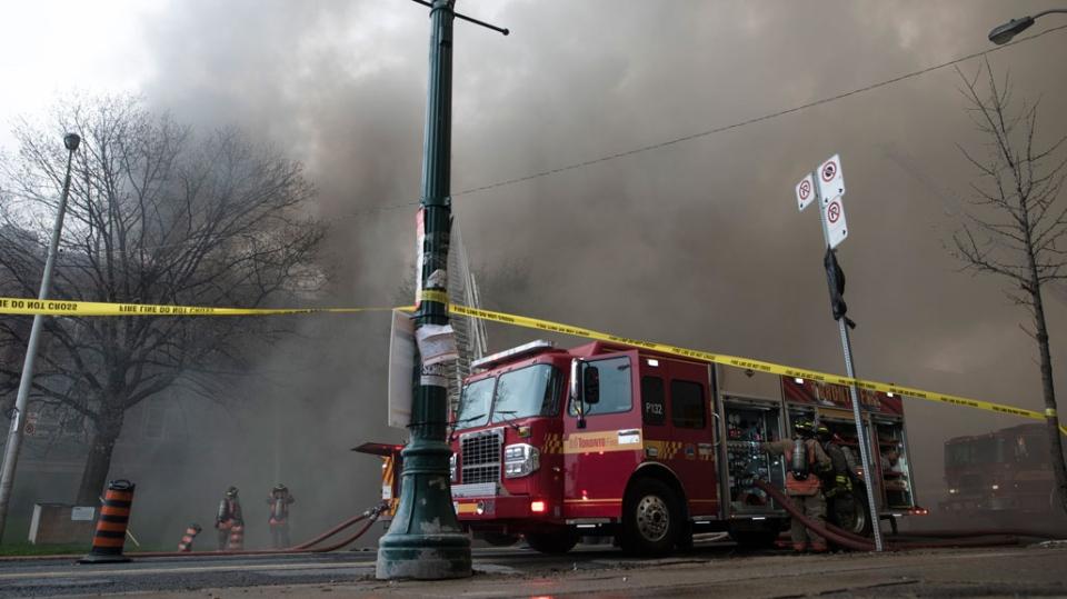 Fire, York Memorial Collegiate Institute
