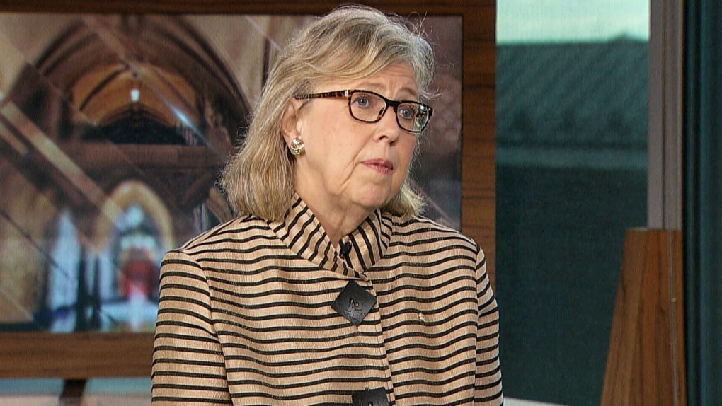 Rise of the Greens? Elizabeth May reacts to the Green Party's byelection win