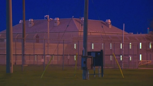 The exterior of Maplehurst Correctional Complex is
