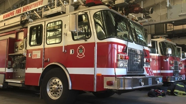 Winnipeg Fire Paramedic Service responded to a fire in a 14-storey apartment building in the first block of Chesterfield Avenue around 9:51 p.m. (File photo)