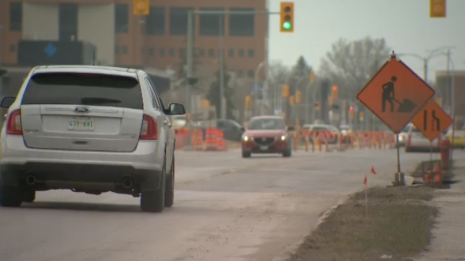 Empress Street named Manitoba's worst road