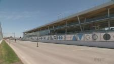 Gilles Villeneuve paddock