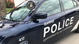 A 15-year-old is injured, and a 14-year-old is facing charges after an alleged fight in Barrie Sat., May 15, 2021. (Barrie police/FILE)