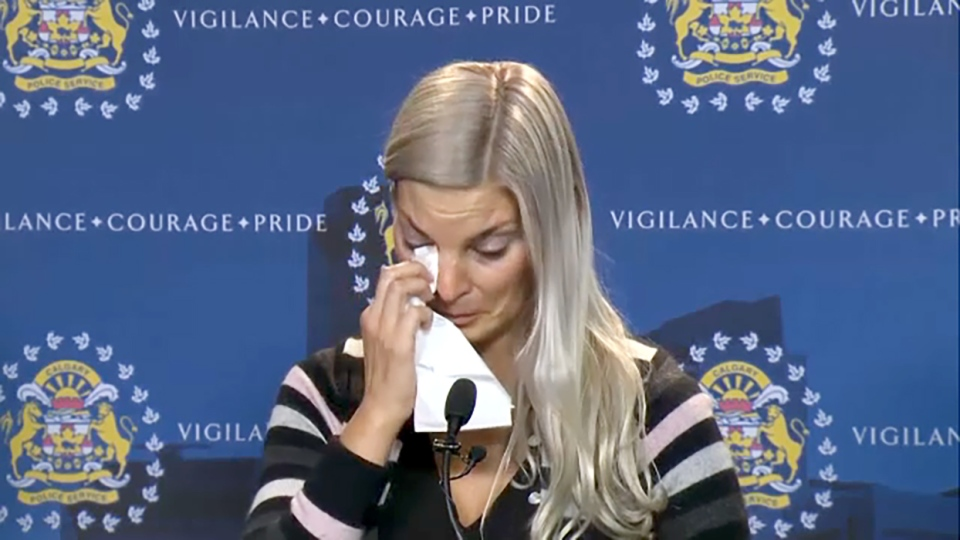 Stephanie Lewis made a tearful plea for answers in the 2016 homicide of her brother, Jeremy Boisseau, whose body was found near Waiparous in 2018.