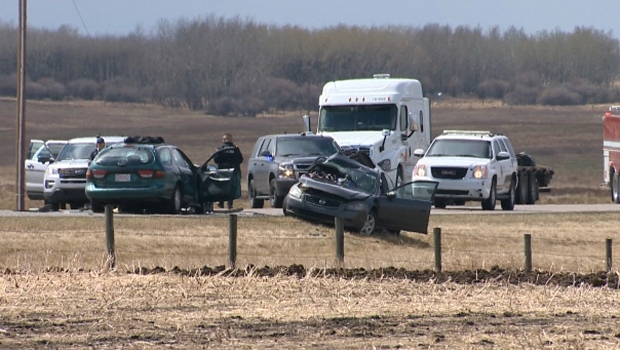 One dead, two transported to hospital following fatal crash east of