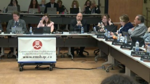 Tensions between the Quebec education minister and the English Montreal School Board increased as the EMSB said a solution to an overcrowding issue may not be found within the given time frame.