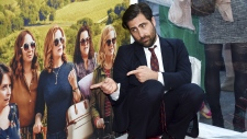 Jason Schwartzman at 'Wine Country' premiere in NY