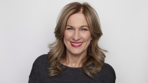 Deborah Dugan posing for a portrait in New York, on Nov. 30, 2012. (Amy Sussman / Invision / AP)